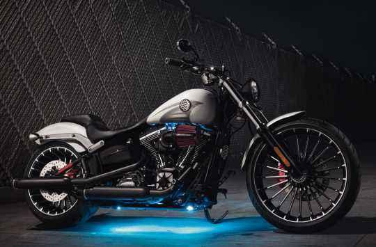 Harley-Davidson Edge Cut Dome Mirrors  - 56000090