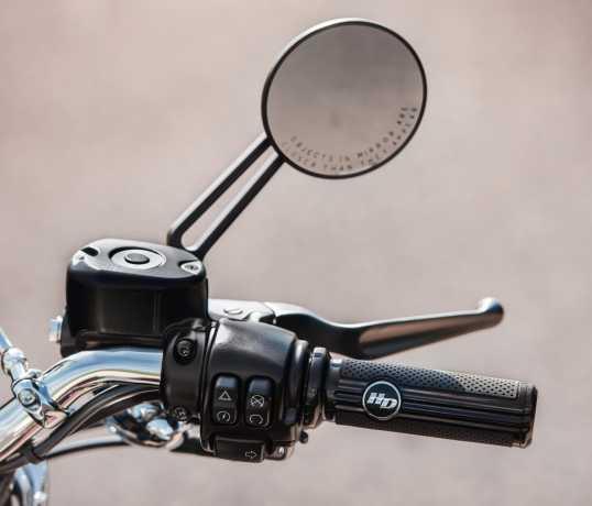 Harley-Davidson Defiance Lenkergriffe schwarz  - 56100159