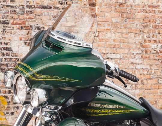 Harley-Davidson Airflow Hand Grips heated gloss black  - 56100342