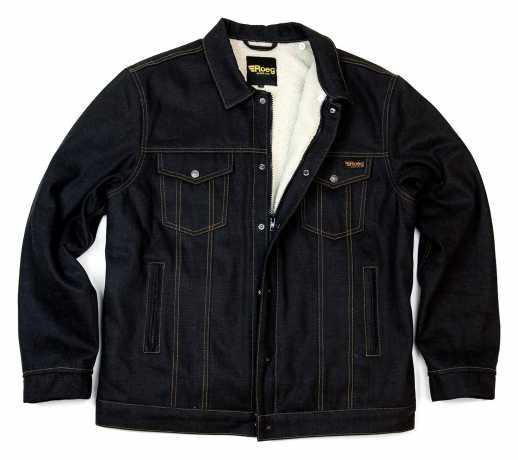 Roeg Roeg Jack Waxed Jacket Sticky Blue  - 561931V