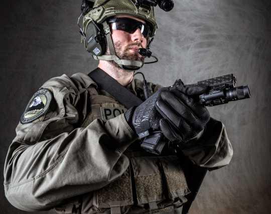 Mechanix Wear Mechanix Specialty Hi-Dexterity 0,5 mm Covert Gloves black  - 567263V