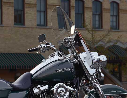 Harley-Davidson Heritage Style Lenker Edelstahl  - 56902-08V