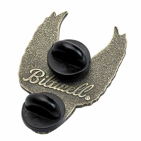 Biltwell Biltwell Pin Winged Wheel Brass  - 576090