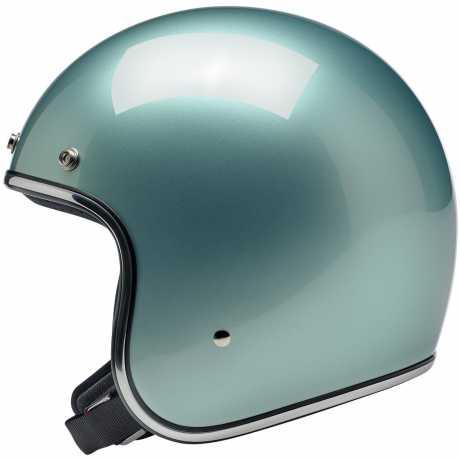 Biltwell Biltwell Bonanza Helmet Metallic Sea Foam  - 578103V