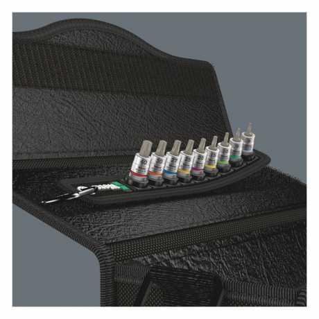 """Wera Wera Belt A3 with 1/4"""" Drive Torx® Socket Bits  - 581424"""