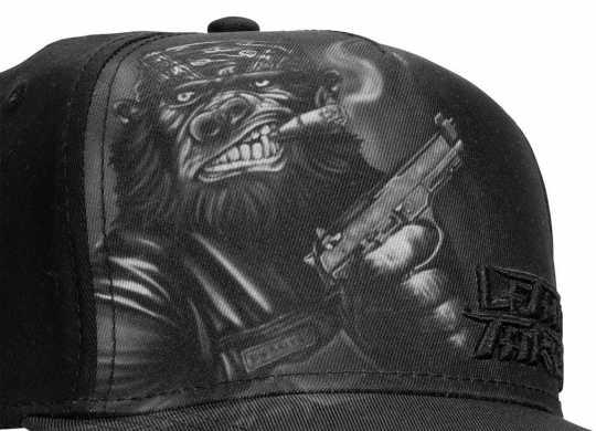 Lethal Threat Lethal Threat Gorilla Gun Baseball Cap schwarz  - 587416