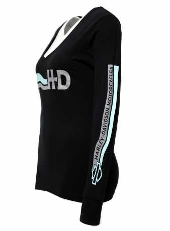 H-D Motorclothes Harley-Davidson Damen Longsleeve Modern Legend schwarz  - 5N0J-HSD7