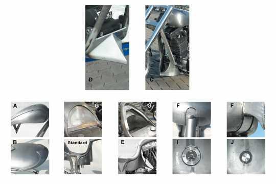 Thunderbike Frame-Kit Freestyle  - 60-82-040