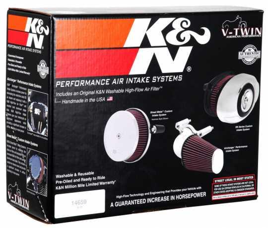 K&N K&N AirCharger Luftfilter schwarz  - 62-9284