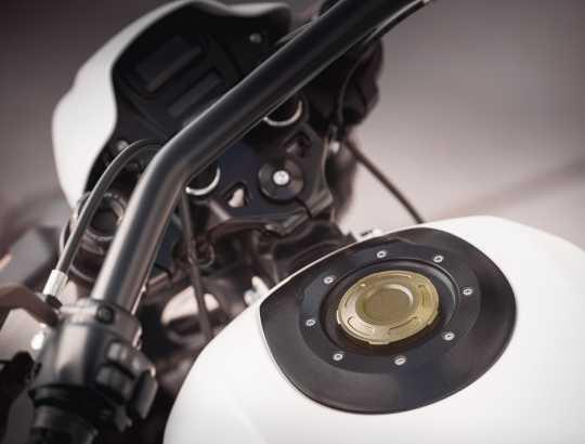 Harley-Davidson Dominion Tankdeckel bronze  - 61100106