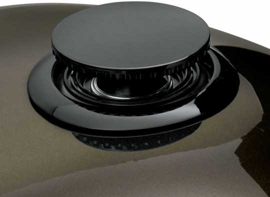 Harley-Davidson Bündiger Tankdeckel schwarz  - 61100134