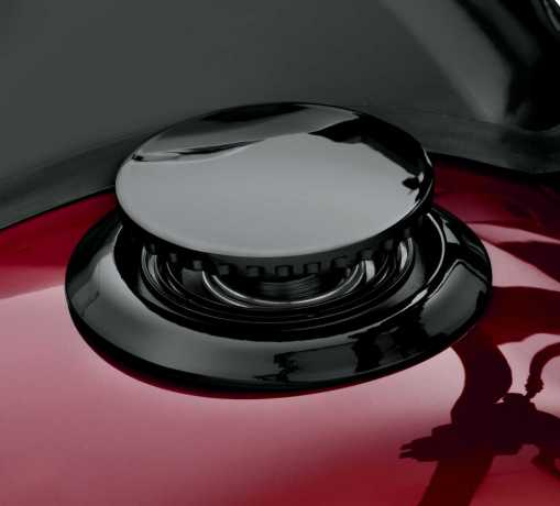 Harley-Davidson Flush-Mount Fuel Cap black  - 61100136