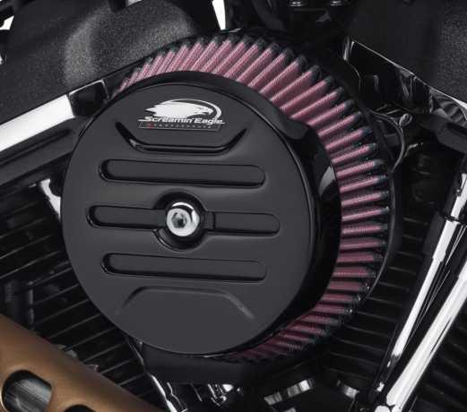 61300846 Screamin Eagle Round Air Cleaner Cover Calibre