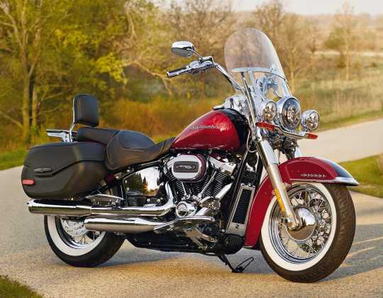 Harley-Davidson Ölkühler Abdeckung chrom  - 62500026