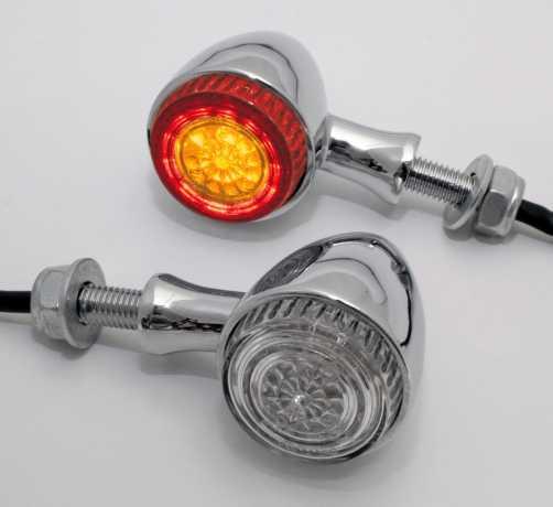 Highsider Highsider Colorado LED Blinker & Rücklicht, chrom  - 65-2778
