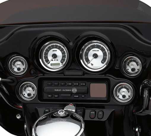 "Harley-Davidson 4"" Drehzahlmesser mit Aluminiumguss-Zifferblatt  - 67522-04B"