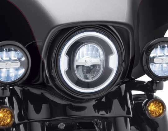 """Harley-Davidson Daymaker 7"""" Signature Reflector LED Scheinwerfer schwarz  - 67700354"""