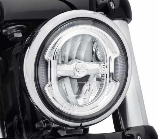 "Harley-Davidson Daymaker 5.75"" Signature Reflector LED Scheinwerfer, chrom  - 67700355"