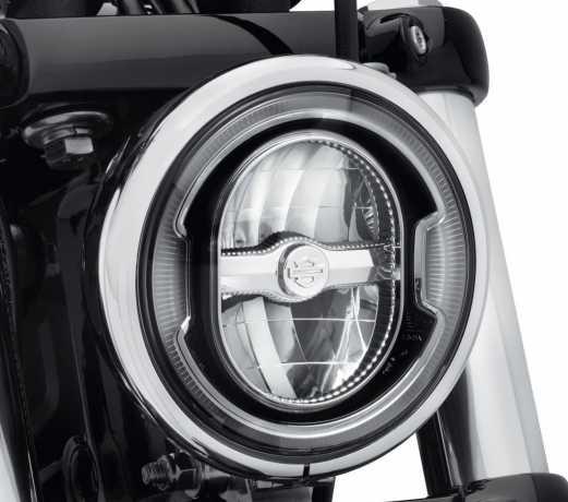 """Harley-Davidson Daymaker 5.75"""" Signature Reflector LED Headlamp - Black  - 67700356"""