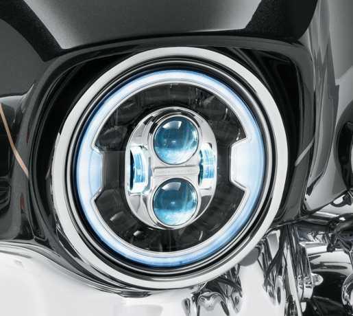 """Harley-Davidson 7"""" Daymaker Adaptive LED Scheinwerfer chrom  - 67700426"""