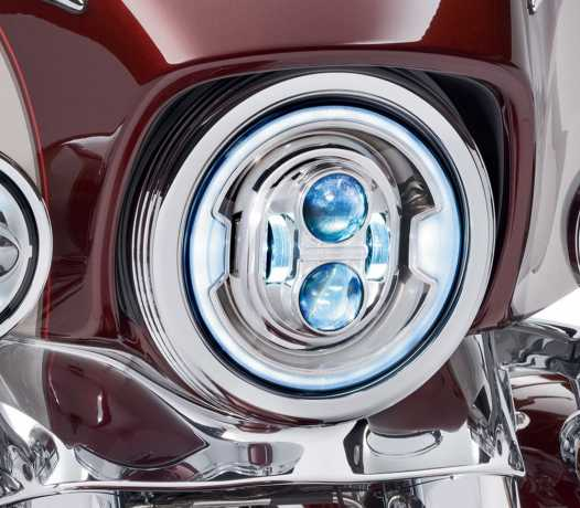 "Harley-Davidson Daymaker 7"" Projector LED Headlamp chrome  - 67700433A"