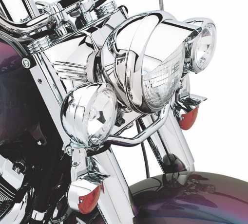 Harley-Davidson Leuchtenschirme Classic Chrome für Zusatzscheinwerfer  - 67783-78T