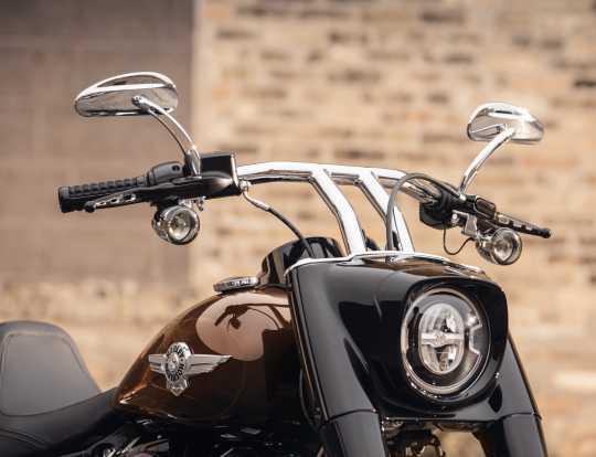 Harley-Davidson LED Bullet Blinkergläser getönt  - 67800643