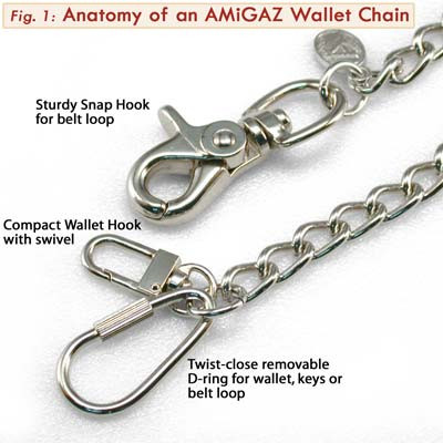 Amigaz Amigaz Monster XL Skull Chain  - 68-2534