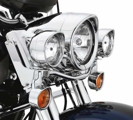 Harley-Davidson Blinker-Zierringe für flaches Glas  - 69749-05