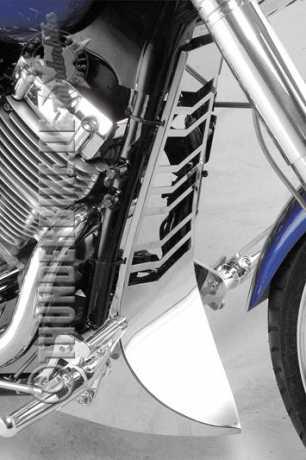Thunderbike Bugspoiler VA poliert  - 74-42-020