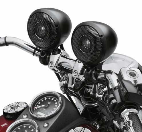 Harley-Davidson Boom! Audio Bluetooth Cruiser Amp & Speaker Kit, satin black  - 76000636