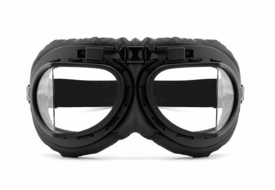 Helly Helly Bikereyes Goggles RB-2 black & clear  - 88-8460