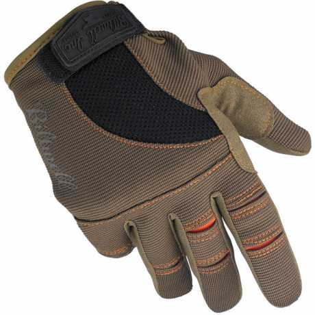 Biltwell Biltwell Moto Gloves, brown / orange  - 956943V