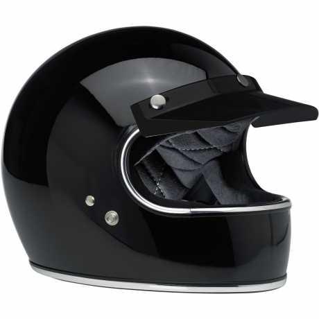 Biltwell Biltwell Moto Visor, black  - 956034