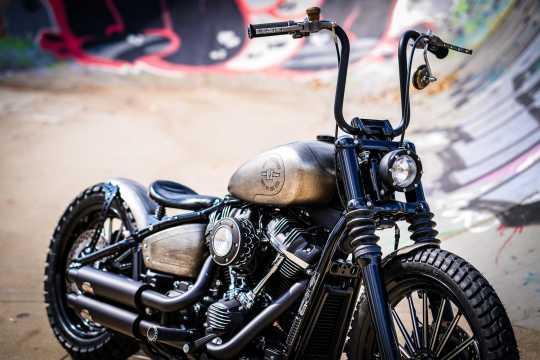Chopper Kulture Chopper Kulture Scheinwerfer matt schwarz  - 89-2162