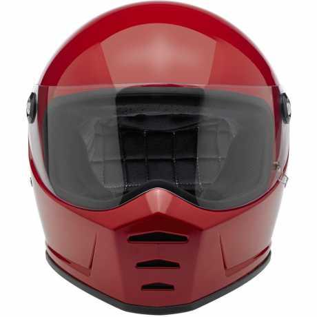 Biltwell Biltwell Lane Splitter Helm ECE, blutrot glänzend  - 89-3194V
