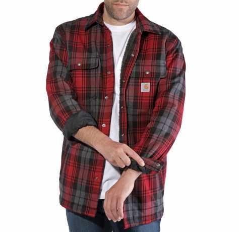 Carhartt Carhartt Hubbard Shirt Jacket Dark Crimson  - 89-4043V