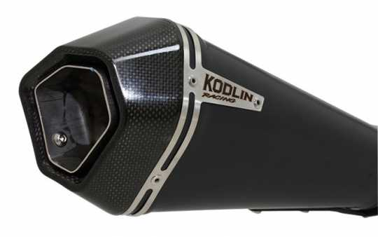 Kodlin Kodlin 2-1 Racing Exhaust Black  - 89-4325