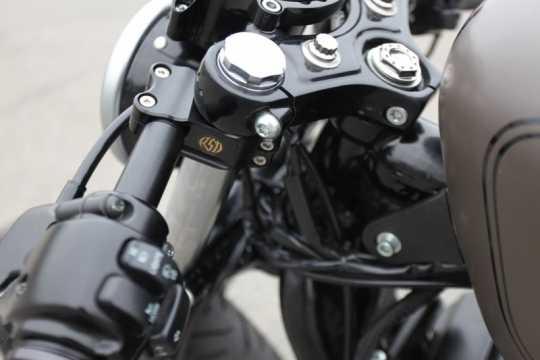 Roland Sands Design RSD Clip-On Handlebar, 39mm, Black Ops  - 89-5913