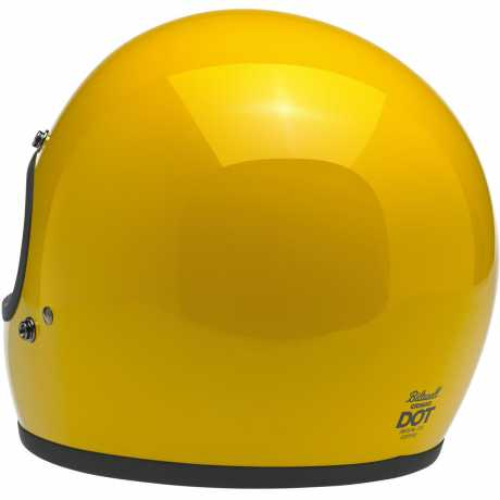 Biltwell Biltwell Helmet Gringo Safe-T Yellow DOT  - 89-9636V