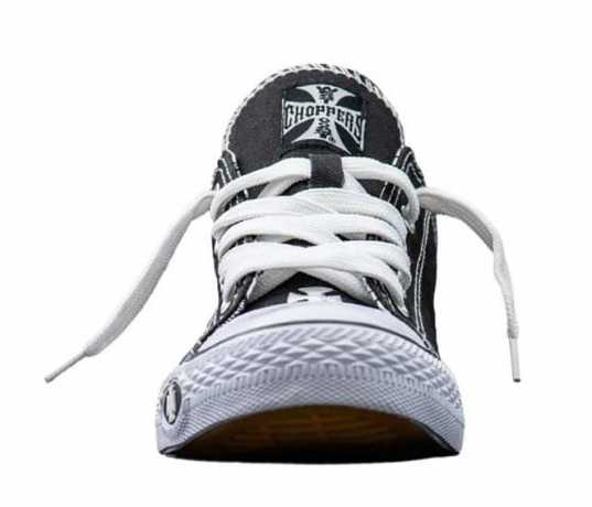 West Coast Choppers West Coast Choppers Sneaker Warrior Low black & white  - 90-1172V