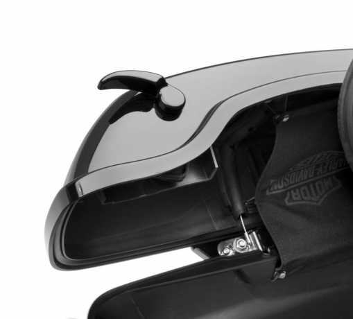 Harley-Davidson Gloss Black Saddlebag Latch Kit  - 90201052