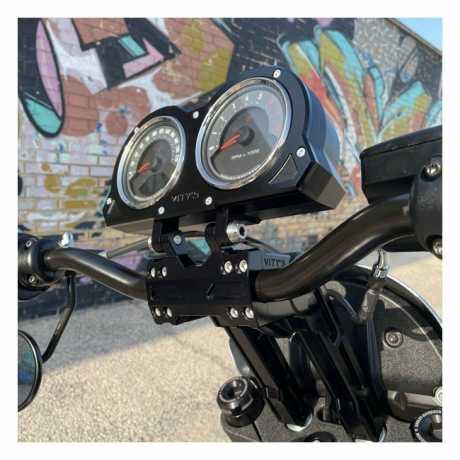 "Vity's Design Vity's Design, 10"" adjustable risers. Black  - 906333"