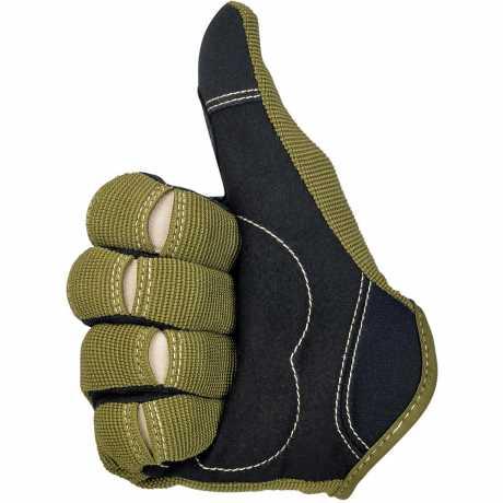 Biltwell Biltwell Moto Handschuhe oliv / schwarz / tan  - 567158V