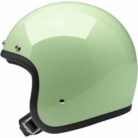 Biltwell Biltwell Bonanza Helmet Gloss Mint DOT  - 91-1906V