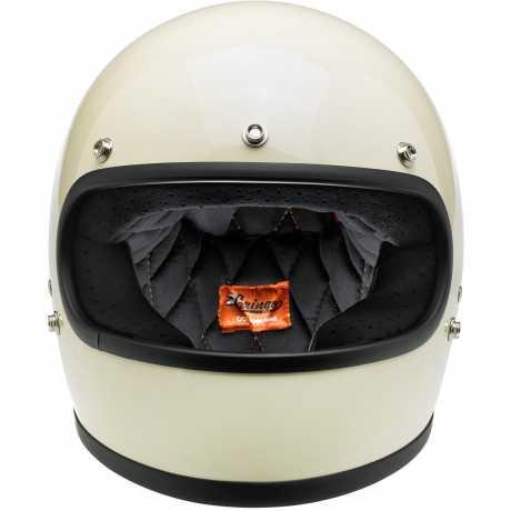 Biltwell Biltwell Gringo Helmet ECE, Gloss Vintage White  - 569556V