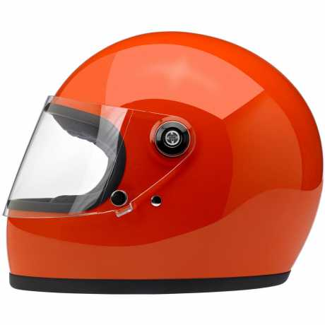 Biltwell Biltwell Gringo S Helm ECE Hazard Orange  - 91-2026V