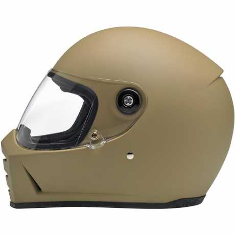 Biltwell Biltwell Lane Splitter Full Face Helmet, DOT/ECE, Flat Coyote Tan  - 91-2038V