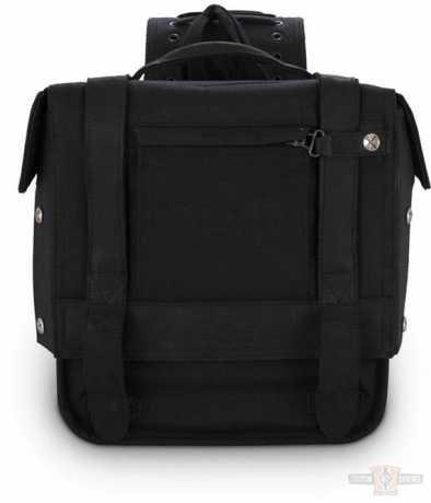Burly Brand Burly Überwurf-Satteltaschen schwarz  - 91-3823