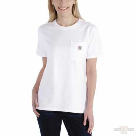 Carhartt Carhartt Damen T-Shirt Workwear Pocket weiß  - 91-4936V